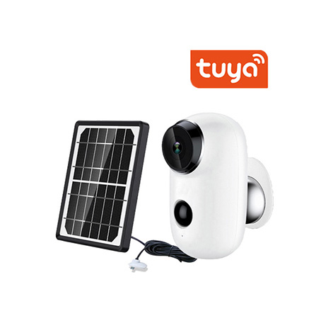 Solar Powered Outdoor Battery Wireless IP Camera