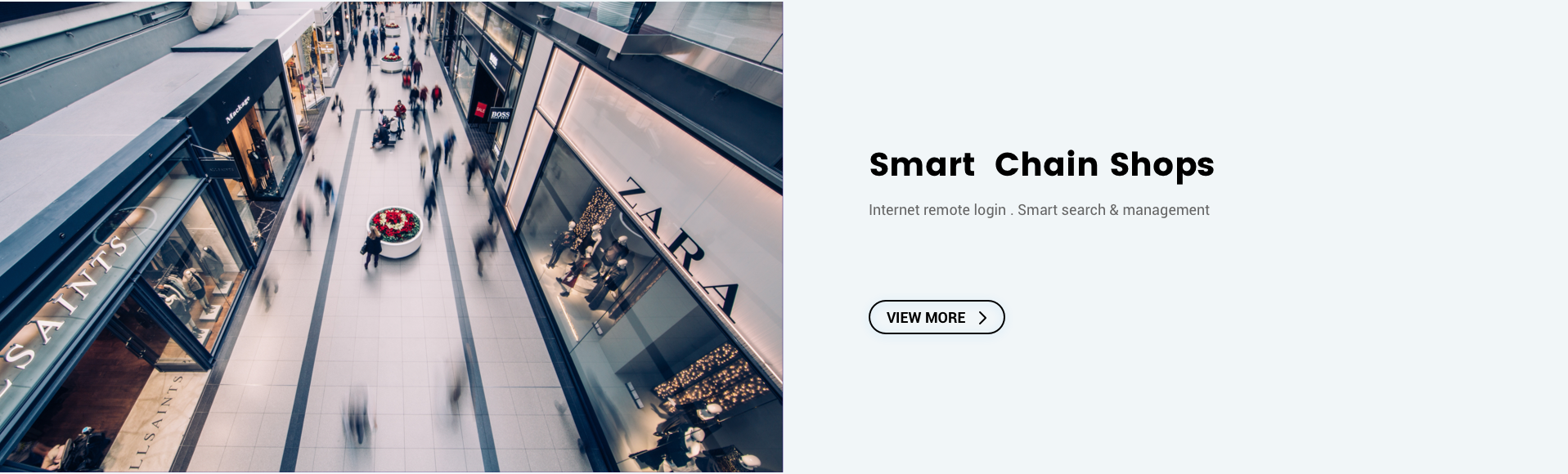Smart Chain Shops Solution
