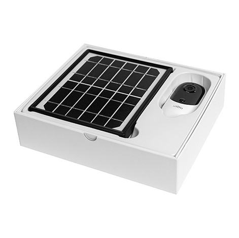 BM1 Solar Powered Rechargeable Battery Wireless IP Camera