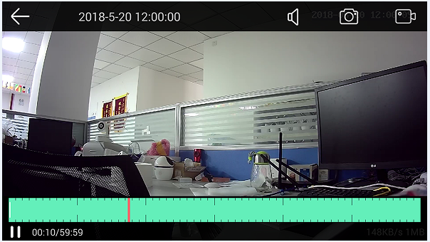 Smart Home Wireless Battery Camera