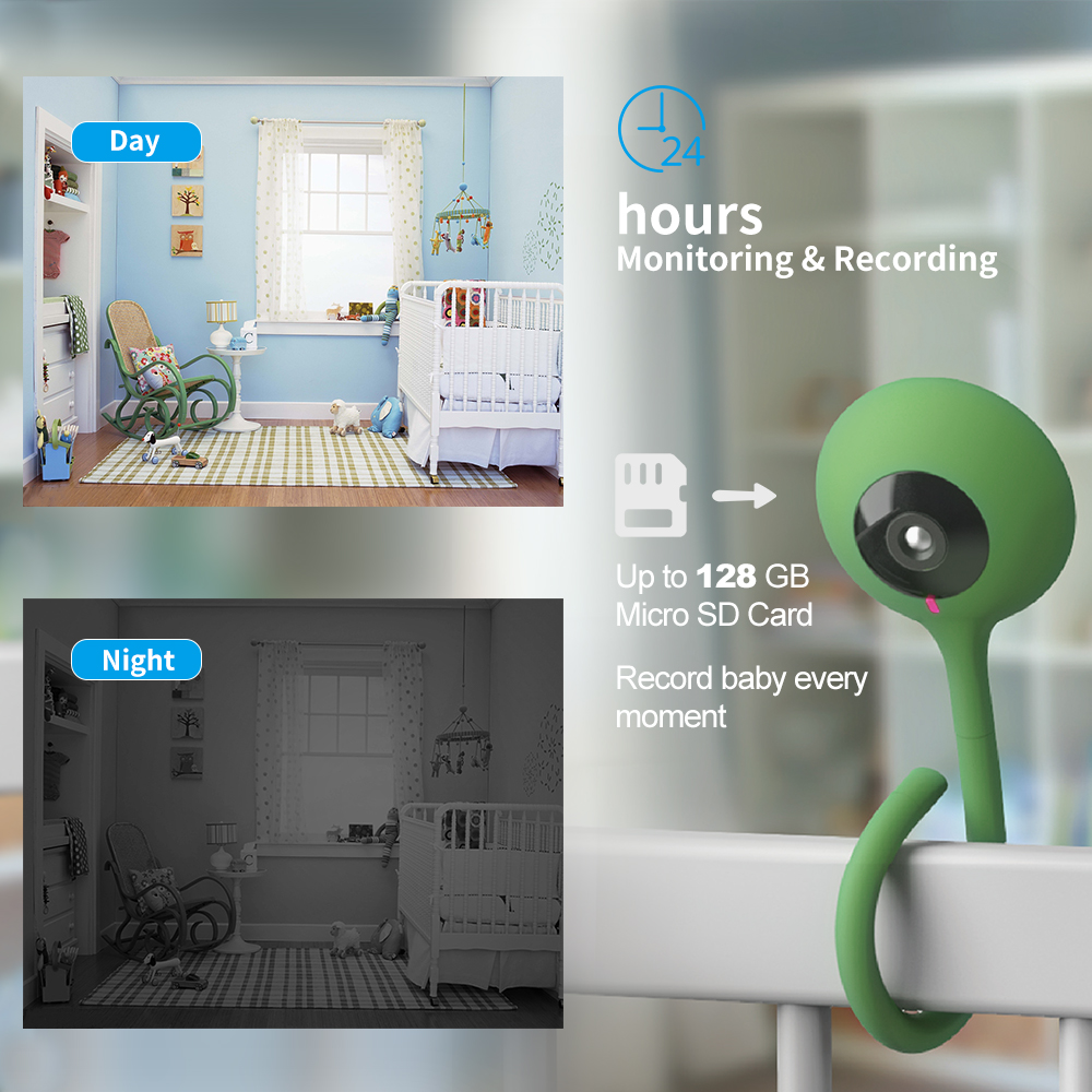 Q2 Home Security Baby Monitor Wireless Camera