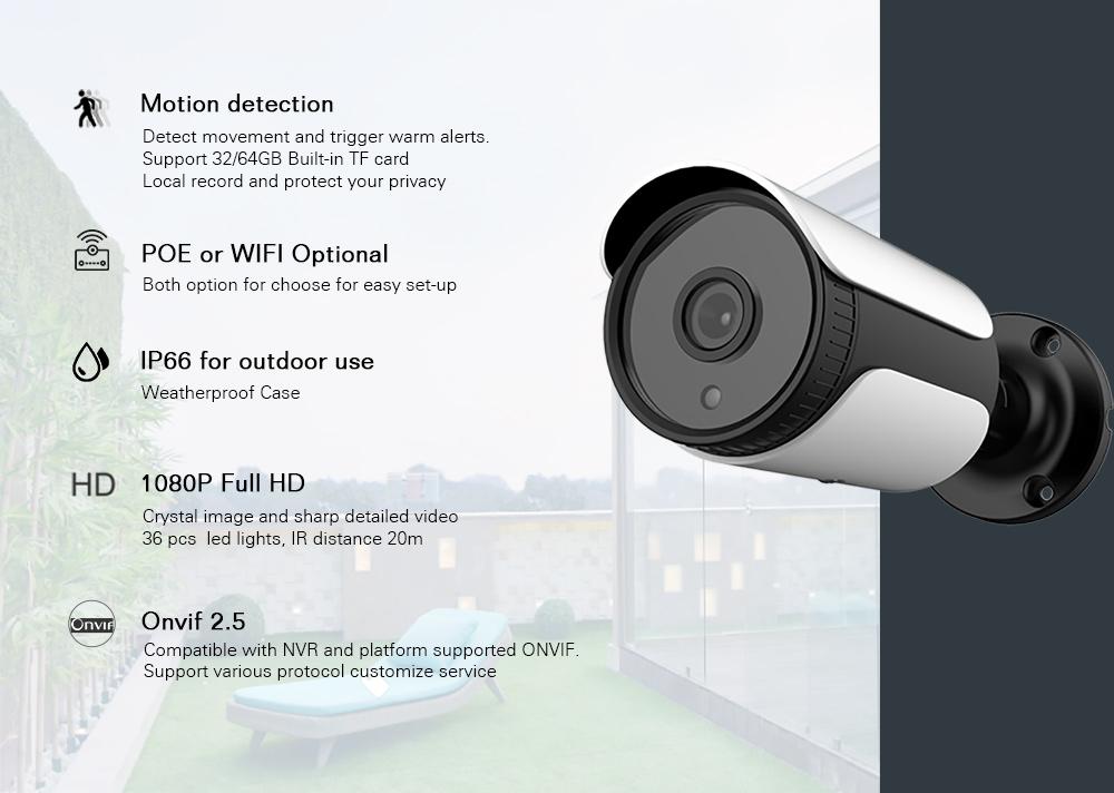 P1 IP65 Outdoor IP Camera