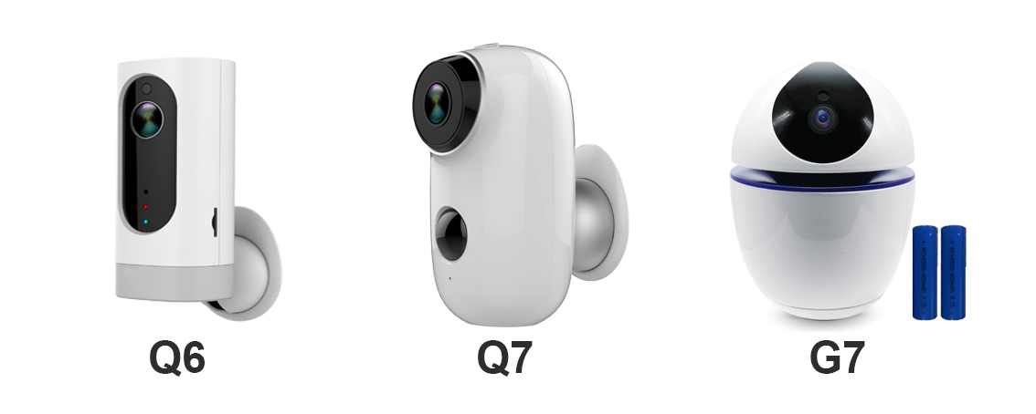 Is there any battery operated home security wireless camera?