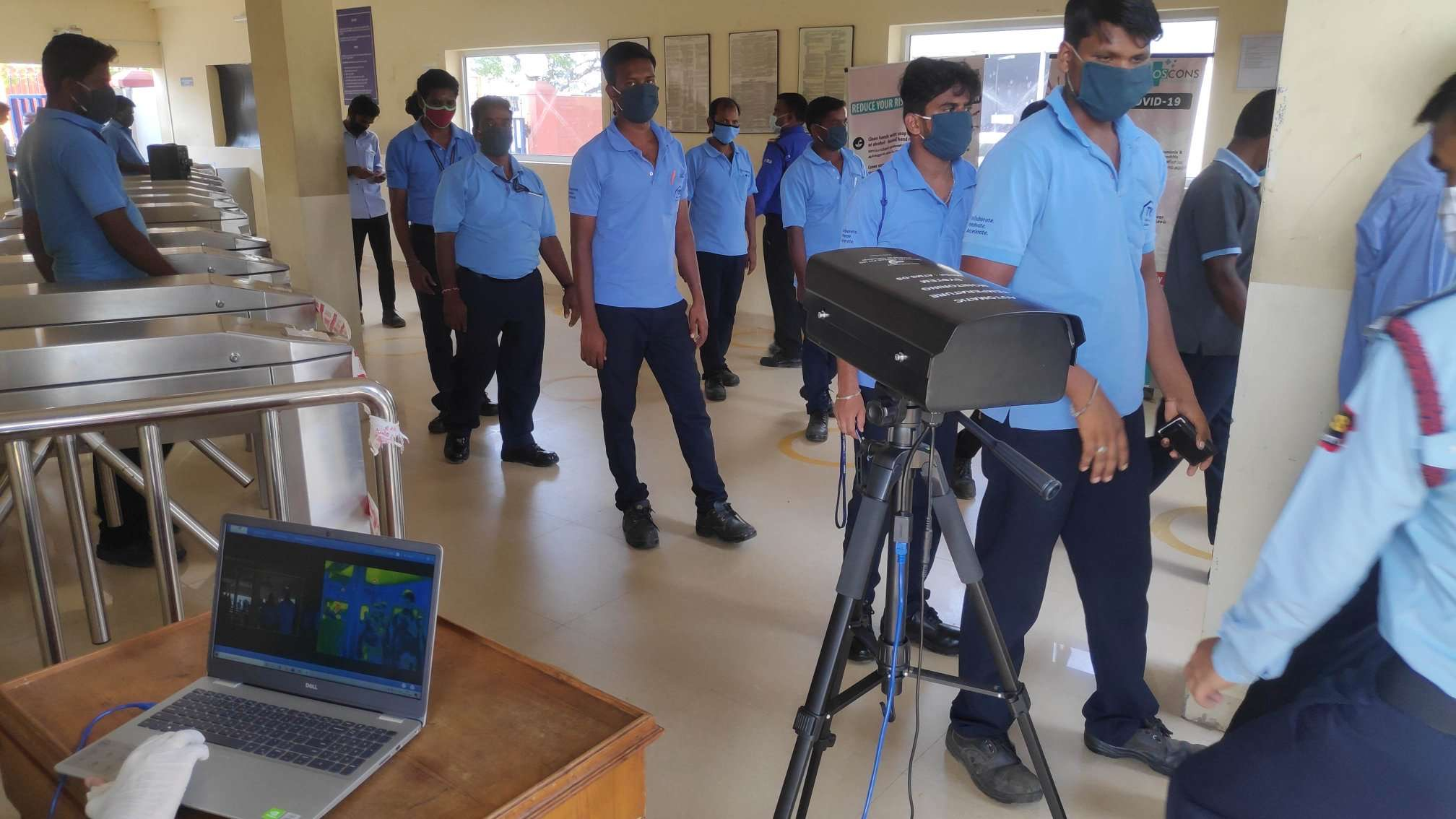 The advantage of body temperature thermal imaging system